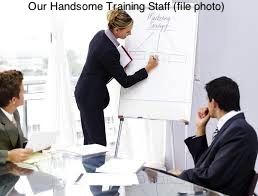 Our Handsome Training Staff (file photo)